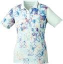 取寄せ品 【ゴーセン】 レディースゲームシャツ (T1801) 11 アイスブルー L