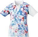 取寄せ品 【ゴーセン】 レディースゲームシャツ (T1801) 30 ホワイト XL