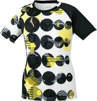 取寄せ品 【ゴーセン】 レディースゲームシャツ (T1805) 30 ホワイト XLの画像