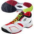 【ヨネックス】 テニスシューズ パワークッション134 オムニクレイコート/YONEX/POWER CUSHION/tennis/トレーニングシューズ (SHT-134W) 187ブラック/レッド