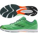 【アディダス】adizeroFeatherRK2ランニングシューズ/アディダスランニング/adidas(B44251)セミフラッシュグリーンS15/セミフラッシュグリーン