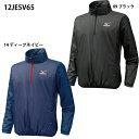【ミズノ】ジュニア・立襟ハーフZIPジャケット Jr/トレーニングウェア/野球ウェア/MIZUNO/BASEBALL(12JE5V65)