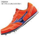 【ミズノ】 GEO SPLASH 6 中距離専用モデル/ジオスプラッシュ/スパイク/800m?10000m・3000SC用/陸上 シューズ/mizuno (U1GA1614) 54 フラッシュオレンジ×ブルー
