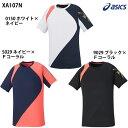 ダイレクトメール便選択可 【アシックス】 クールTシャツ メンズ/ユニセックス/Tシャツ/スポーツウェア/トレーニングウェア/asics (XA107N)