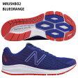 【ニューバランス】VAZEE RUSH M ランニングシューズ/トレーニングシューズ/マラソン/駅伝/ランニング/RUNNING/new balance (MRUSHBO2)  BLUE/ORANGE