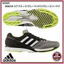 【アディダス】 adiZERO takumi ren BOOST 3 ランニングシューズ アディゼロ/adidas (KCD29) BA8230 コアブラック/グレーワンF17/グレ..