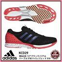 【アディダス】 adiZERO takumi ren BOOST 3 ランニングシューズ アディゼロ/adidas (KCD29) BB6428 コアブラック/リアルパープル S18/..