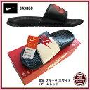 【ナイキ】NIKE BENASSI JDI ベナッシ スポーツサンダル/シャワーサンダル/NIKE (343880) 006 ブラック/ホワイト/ゲームレッド