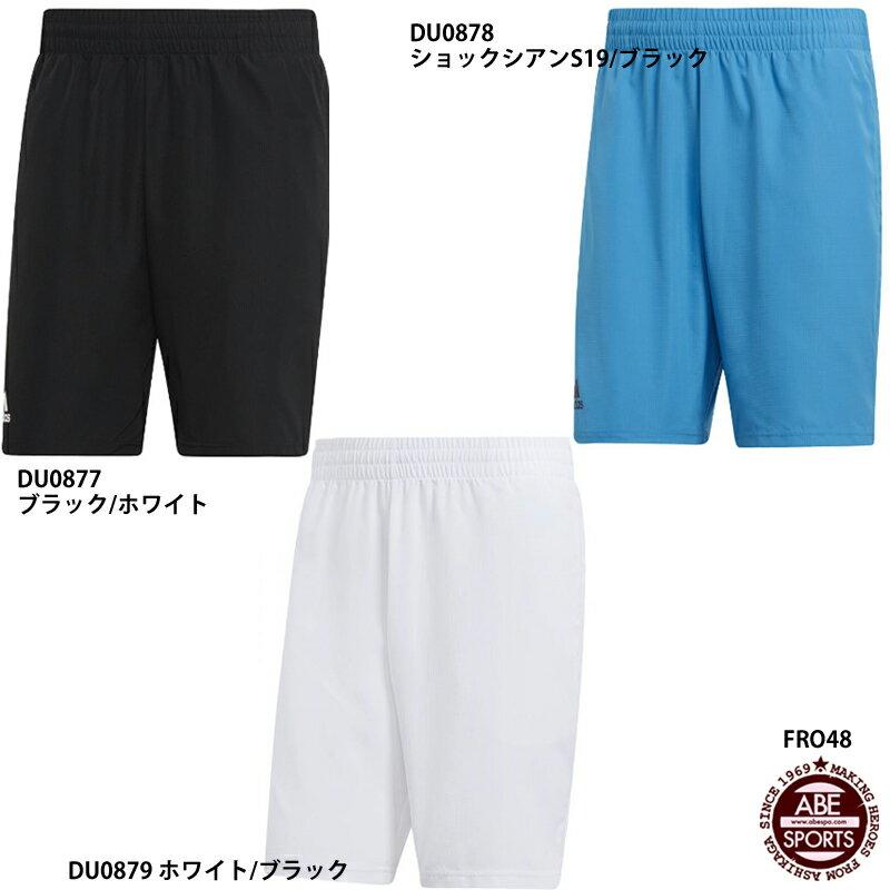 ネコポス選択可【アディダス】TENNIS CLUB SHORT 9 テニス ハーフパンツ/テニスクラブショート/テニスウェア/adidas(FRO48)