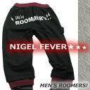 ショッピングサルエルパンツ Nigel Fever/ナイジェルフィーバー ROOMER'Sサルエルパンツ ブラック/メンズ
