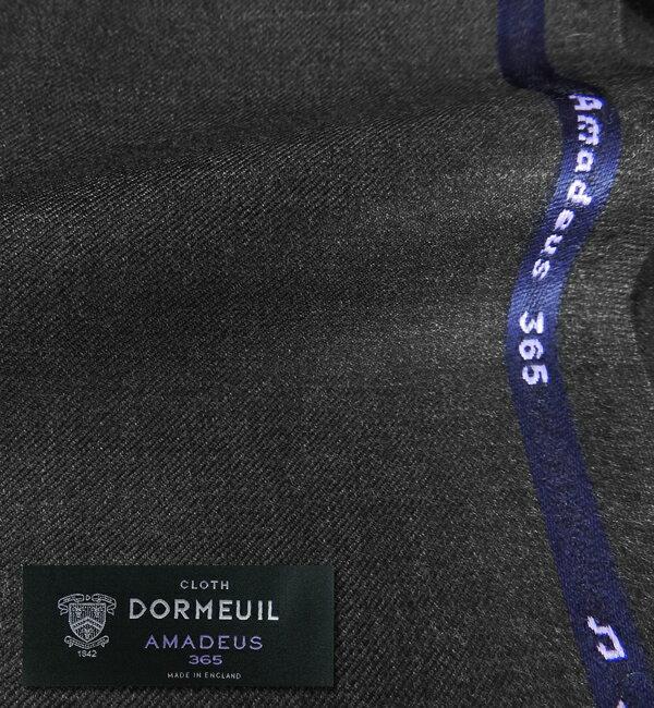 オーダースーツ [ブランド] DORMEUIL ドーメル / AMADEUS 365 [色] チャコールグレー(濃グレー) [柄] 無地 [品質] Super100's 100% wool , woven in England [英ブランド][秋冬向け][送料無料]【02P03Dec16】 fs04gm