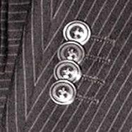 袖重ねボタン【オーダースーツ オプション】:オーダースーツ注文紳士服アベ