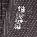 袖重ねボタン