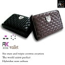 [RUSS-K RAS Kay] two fold wallet (wallet) [black black / chocolate brown tea ]RK 【 after20130610 】]
