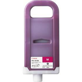 Canon  純正インク キヤノン インクタンク PFI-701M 【02P13Jun14】 【高画質プリンタにはメーカー純正の消耗品を装着下さい】【騒がしい】