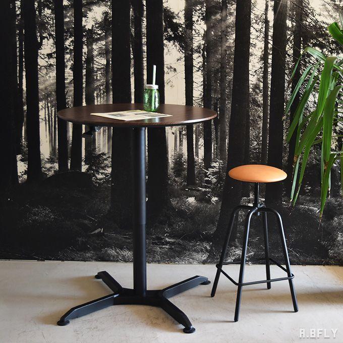 ナルミ 円形 昇降テーブル