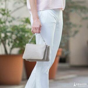 【LAURADIMAGGIO】ローラ・ディ・マジオ3ポケット2WAYレザーバッグ