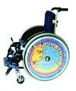 子供用 車いすスポークカバー 16インチ用【3個以上で20%引き/障がい児用車いす/バンプレスト】