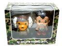 【代引き不可】A BATHING APE(エイプ)x ASTRO BOY(鉄腕アトム)DR. MILO & ASTRO BOY FIGURE【MEDICOM TOY】【新品】BAPE(ベイプ)