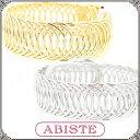 ABISTE(アビステ) メタルデザインバングル レディース キラキラ アクセサリー エレガント 人気 結婚式 二次会 パーティー華やか