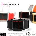 『BOUNCER SPORTS』(バウンサースポーツ)♪1995円で全12色展開◆デジタル腕時計/デカデジリストウォッチ/381G◆573