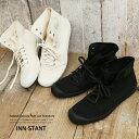ハイカットスニーカー メンズ キャンバススニーカー 靴 IN...