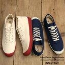 スニーカー メンズ ナチュラル キャンバス ミッドカット 靴...