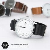 HAROLDGOLD アナログ 腕時計 メンズ レザー 本革 ナイロン レザーベルト ユニセックス 14224 Cheapo チーポ 5703