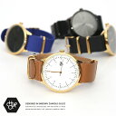 HAROLDGOLD アナログ腕時計 メンズ アナログ 腕時計 レザー 本革 ナイロン レザーベルト ユニセックス 北欧 14229 Cheapo チーポ 57...