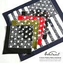バンダナ ペイズリー柄 メンズ ハンカチ 星条旗 アメリカ製 USA ユニセックス HAV-A-HANK Walnut. 5950