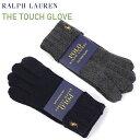 POLO Ralph Lauren Merino Wool The Touch Glove US ポロ ラルフローレン タッチパネル対応のニット手袋