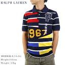 Ralph Lauren Boy's PATCHWORK Mesh POLO Shirts USボーイズ ラルフローレン パッチ