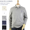 Ralph Lauren Men's Cotton Jersey l/s Polo Shirt US ポロ ラルフローレン 長袖ポロシャツ
