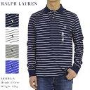 ポロ ラルフローレン ソフトタッチコットン ボーダー柄 長袖ポロシャツ POLO Ralph Lauren Men 039 s Cotton Jersey Border l/s Polo Shirt US