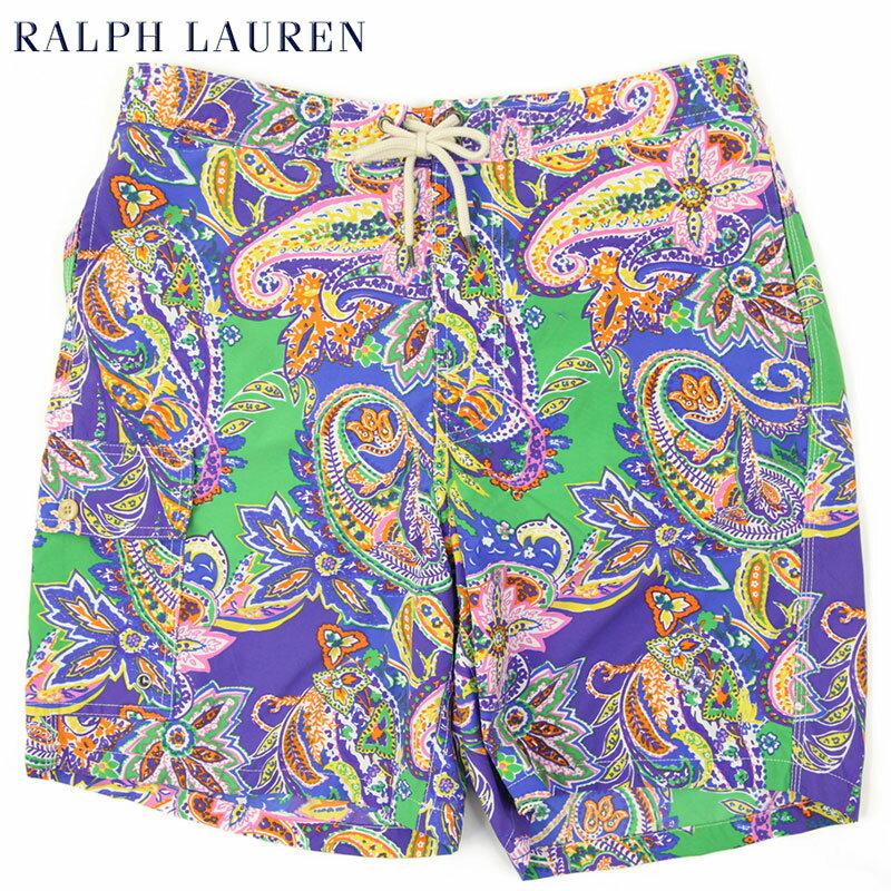 Ralph Lauren Men's Paisley Swim Shorts US ポロ ラルフローレン ペイズリー スイムショーツ (水着)