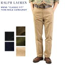 "Polo by Ralph Lauren Men's ""CLASSIC FIT"" THIN-WALE CORDUROY US ポロ ラルフローレン メンズ コー..."