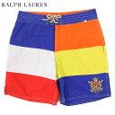 Ralph Lauren Men's Multi Panel Swim Shorts US ポロ ラルフローレン ビッグポニー スイムショーツ (水着)