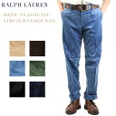 "Polo by Ralph Lauren Men's ""CLASSIC FIT"" STRETCH CORDUROY US ポロ ラルフローレン メンズ コーデュ..."