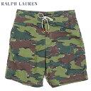 Ralph Lauren Men's Camouflage Swim Shorts US ポロ ラルフローレン カモフラージュ 迷彩 スイムショーツ (水着)