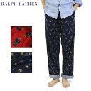 "Ralph Lauren Men's ""POLO BEAR"" Pajama Pant US ポロ ラルフローレン ポロベアー パジャマ パンツ 寝間着"
