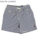 ポロ ラルフローレン マリン ストライプ スイムショーツ (水着)POLO Ralph Lauren Men's Stripe Swim Shorts