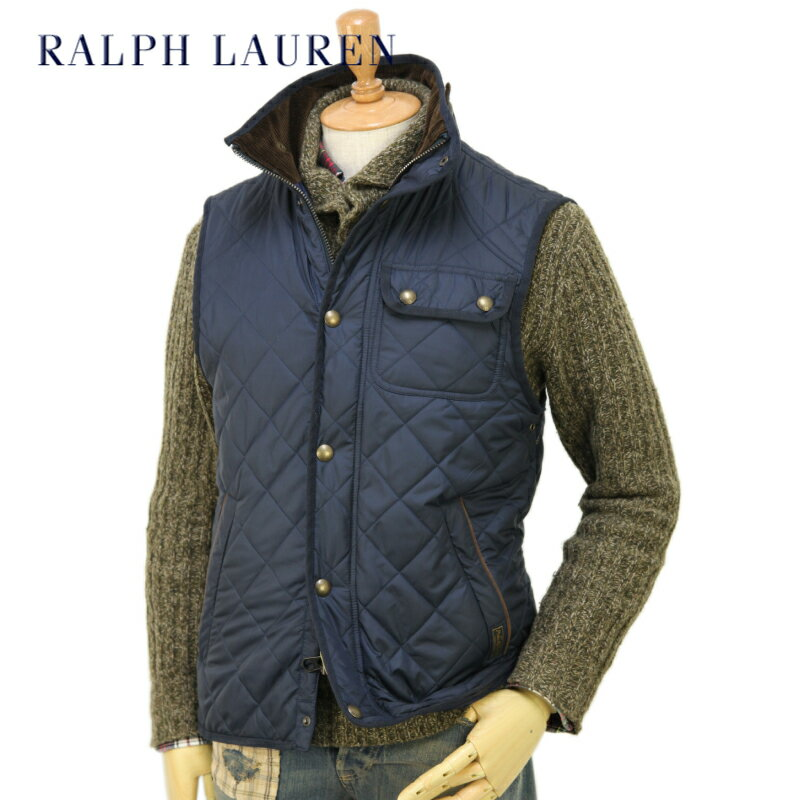 POLO by Ralph Lauren Men's Epson Quilted Vest US ポロ ラルフローレン キルティング ベスト