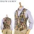 Ralph Lauren Men's Patchwork Vest US ポロ ラルフローレン パッチワーク ベスト