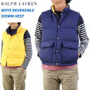 POLO by Ralph Lauren Boy's Reversible Down Vest USラルフローレン ボーイズダウンベスト