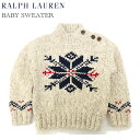 "(9M-24M) POLO by Ralph Lauren ""INFANT BOY"" Sweater USラルフローレン (幼児) セーター"