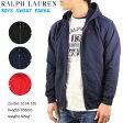 Ralph Lauren Boy's Fleece Zip Parka USラルフローレン ジップアップスウェットパーカー