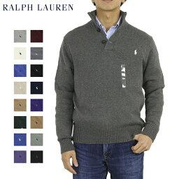 Ralph Lauren Men's Cotton Mockneck Sweater US ポロ <strong>ラルフローレン</strong> コットンのハイネックセーター