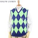 Ralph Lauren Men's Argyle Knit Vest US ポロ ラルフローレン アーガイル ニットベスト