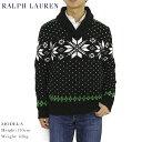 Ralph Lauren Men's Snowflake Shawl Sweater US ポロ ラルフローレン ショールカラー セーター