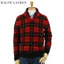 Ralph Lauren Men's Scottish Tartan Shawl Sweater US ポロ ラルフローレン タータンチェック ショールカラー ...
